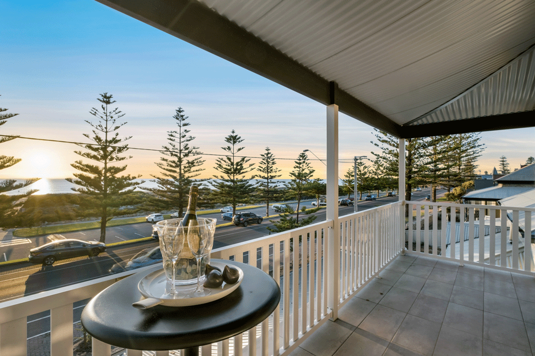Semaphore Beach House Balcony
