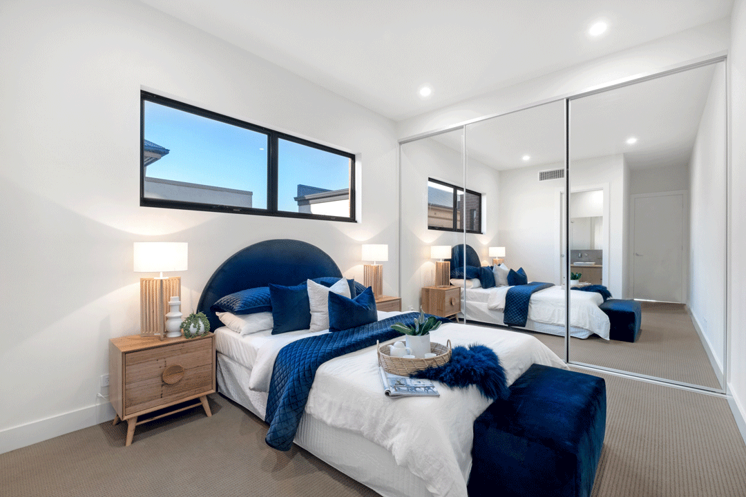 Semaphore Beach House Master Bedroom